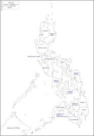 Philippine Map Philippines Map Black And White With Region Image Gallery Hcpr