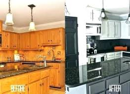Professionally Painting Kitchen Cabinets Spray Painting Kitchen Cabinets Babca Club