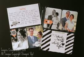 Project Life Wedding Album Project Life By Stampin U0027 Up