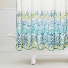 Teal Colored Shower Curtains Colorful Printed Shower Curtain Draping Ideas Trends4us