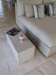 banc beton cire table bout de canape en beton cire photo de beton cire le
