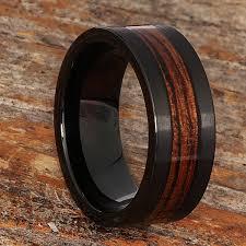 wooden metal rings images Neptune wooden rings black brushed for men forever metals jpg
