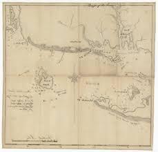 Hamptons Map A Unique Manuscript Map Of Block Island Sound Including Fisher U0027s