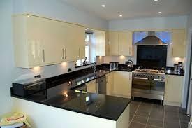 Backsplash For Black Granite by Backsplash Ideas For Black Granite And White Cabinets Ideas For