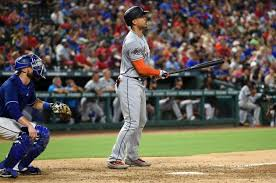 giancarlo stanton marlins jpg giancarlo stanton hits 2 more home runs ties aaron judge at 32 ny