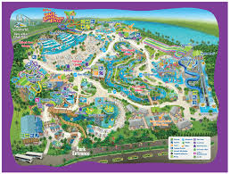 Disney Florida Map by Park Map Aquatica Orlando
