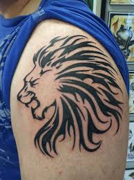 15 magnificent leo tribal tattoos only tribal