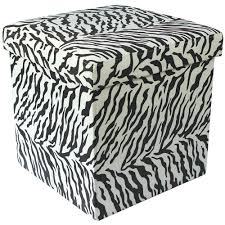 storage cube ottoman 38cm folding storage pouffe cube foot stool seat ottoman toy chest