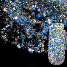 dazzling abalone transparents sequins dust diy nail glitter