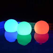 floating pool ball lights floating pool lights floating pool balls led pool lights goglow