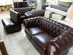 Leather Sofa Chesterfield by Client Feedback