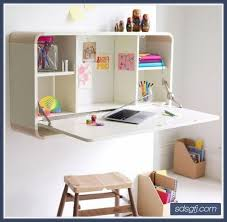 Wall Desk Ideas Wonderful Built In Desk Ideas For Small Spaces Top Office Design