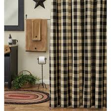bathroom shower curtains country and primitive style shower curtains