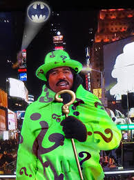 Riddler Meme - the riddler steve harvey s white new year s eve outfit know