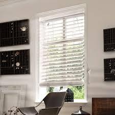 chicology faux wood blind simply faux wood variable light