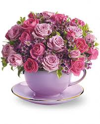 Roses Bouquet Cup Of Roses Bouquet Flowers Cup Of Roses Flower Bouquet