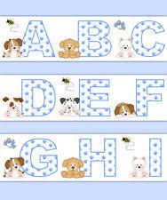 dogs u0026 puppies nursery wallpaper borders ebay