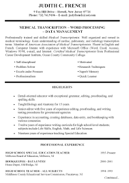 Teacher Resume Sample Resume Examples For High Education Section Augustais