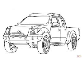 suzuki truck equator suzuki equator coloring page free printable coloring pages