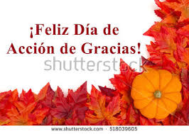 happy thanksgiving greeting some fall stock photo
