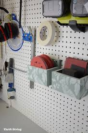 Cool Pegboard Ideas How To Make A Diy Pegboard Organizer For Your Garage Or Craft Room