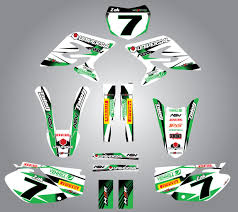full custom graphic kit storm kawasaki kx 250 2003 2012 ebay