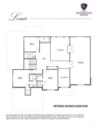 renaissance homes floor plans the lena renaissance living llc
