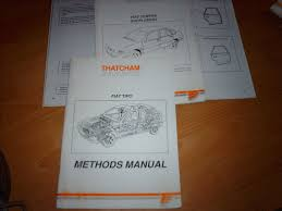 body repair manual fiat tipo and tempra u2022 24 00 picclick uk