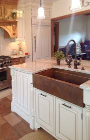 Copper Faucet Kitchen Best 25 Copper Sinks Ideas On Pinterest Country Kitchen Sink