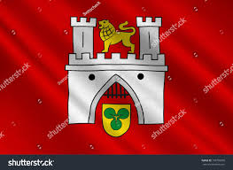 Flag Capital Flag Hanover Hannover Capital Largest City Stock Illustration