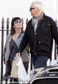 Awn French Dawn French And Husband Do Some Shopping Dawn French Dawn And