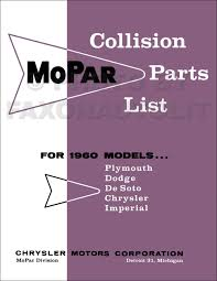 1960 dodge car repair shop manual original
