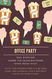 office party flyer how to throw an office party the cellar baltimore