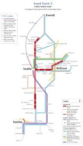 Seattle Sounder Train Map by Future Developments Of Denver Phoenix San Diego Seattle And