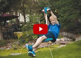 Backyard Zip Line Diy How To Make Zip Line In Your Backyard Outdoor Goods