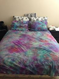 diy tie dye bed sheets pinterest what is this set full