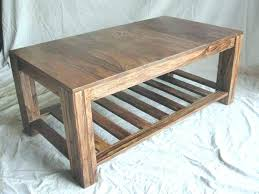 handmade wood coffee table design your own coffee table simplysami co