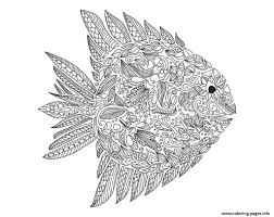 zentangle fish by artnataliia coloring pages printable