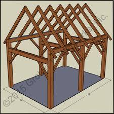 16 x 24 timberframe kit groton timberworks timberframe sheds garages groton timberworks