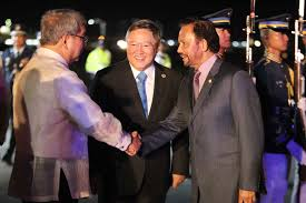 sultan hassanal bolkiah son asean summit in manila
