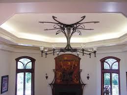 Art Nouveau Chandelier Chandelier In Place2 Jpg