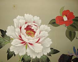 Japanese Flowers Paintings - japanese peony google search peony inspiration pinterest