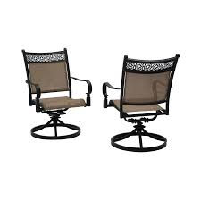 Garden Treasures Patio Chairs Shop Garden Treasures Potters Glen Patio Dining Chair At Lowes Com