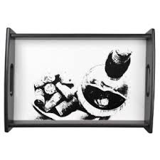 sketches serving trays food trays zazzle