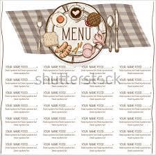 30 dinner menu templates free designs ideas creative template