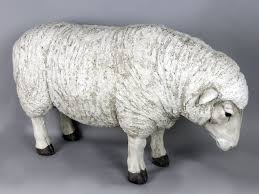 woolly sheep garden ornament comfortzone home furnishers