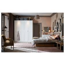 100 ikea four poster bed pax wardrobe white grimo white