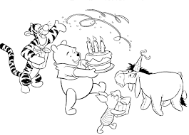 birthday coloring pages boy teddy bear happy birthday coloring page for kids surprising pages
