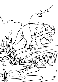 cera dinosaur from land before time coloring pages for kids