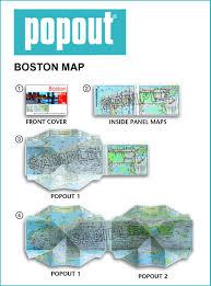 Boston Tourist Map Boston Popout Map Popout Maps Popout Maps 0711600302271